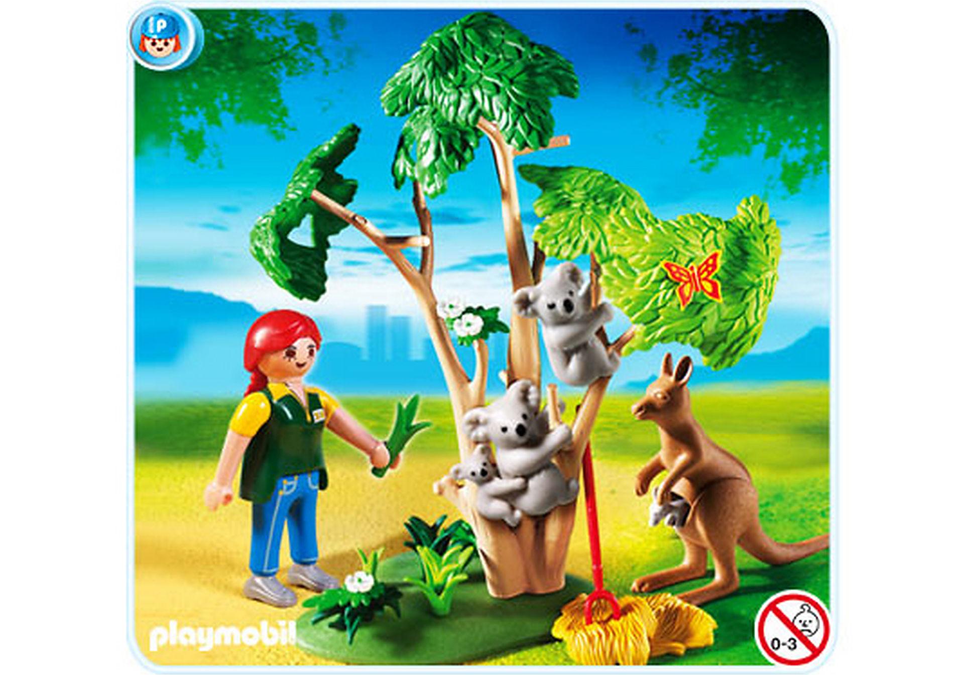 4854-A Arbre à koalas et kangourous zoom image1