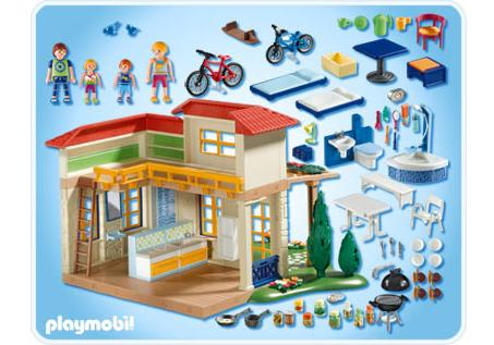 Summer house 4857 a playmobil for Playmobil modernes haus 9266