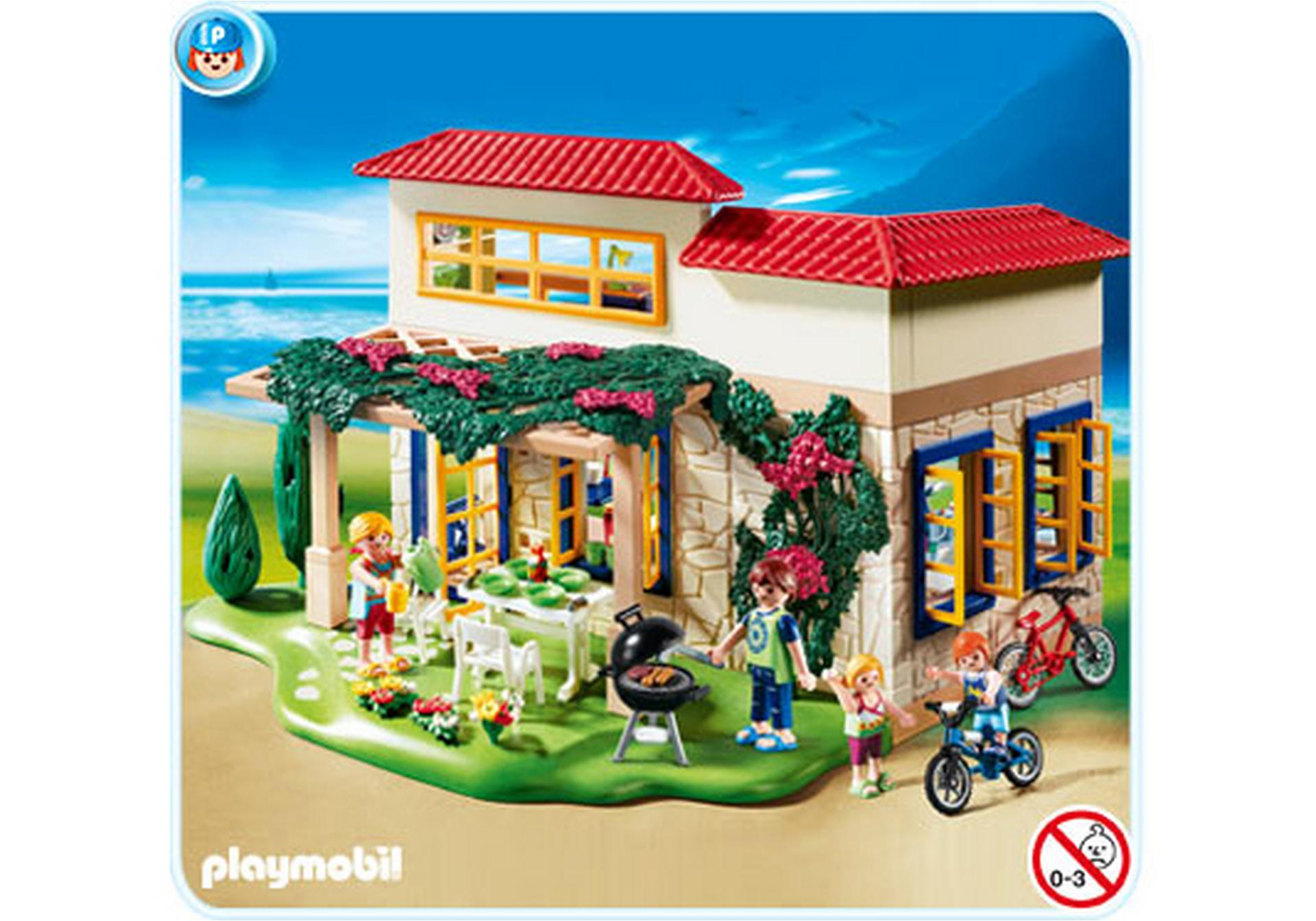ferientraumhaus 4857 a playmobil deutschland. Black Bedroom Furniture Sets. Home Design Ideas