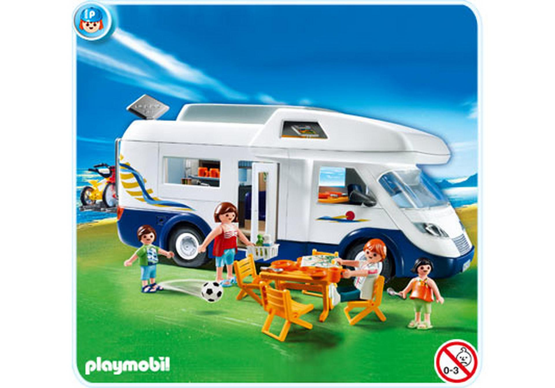 Grand Camping Car Familial 4859 A PLAYMOBIL France