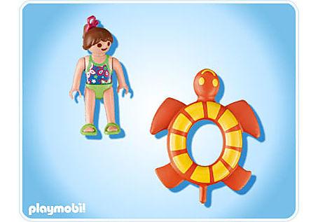 4860-A Mädchen mit Schwimmreif detail image 2