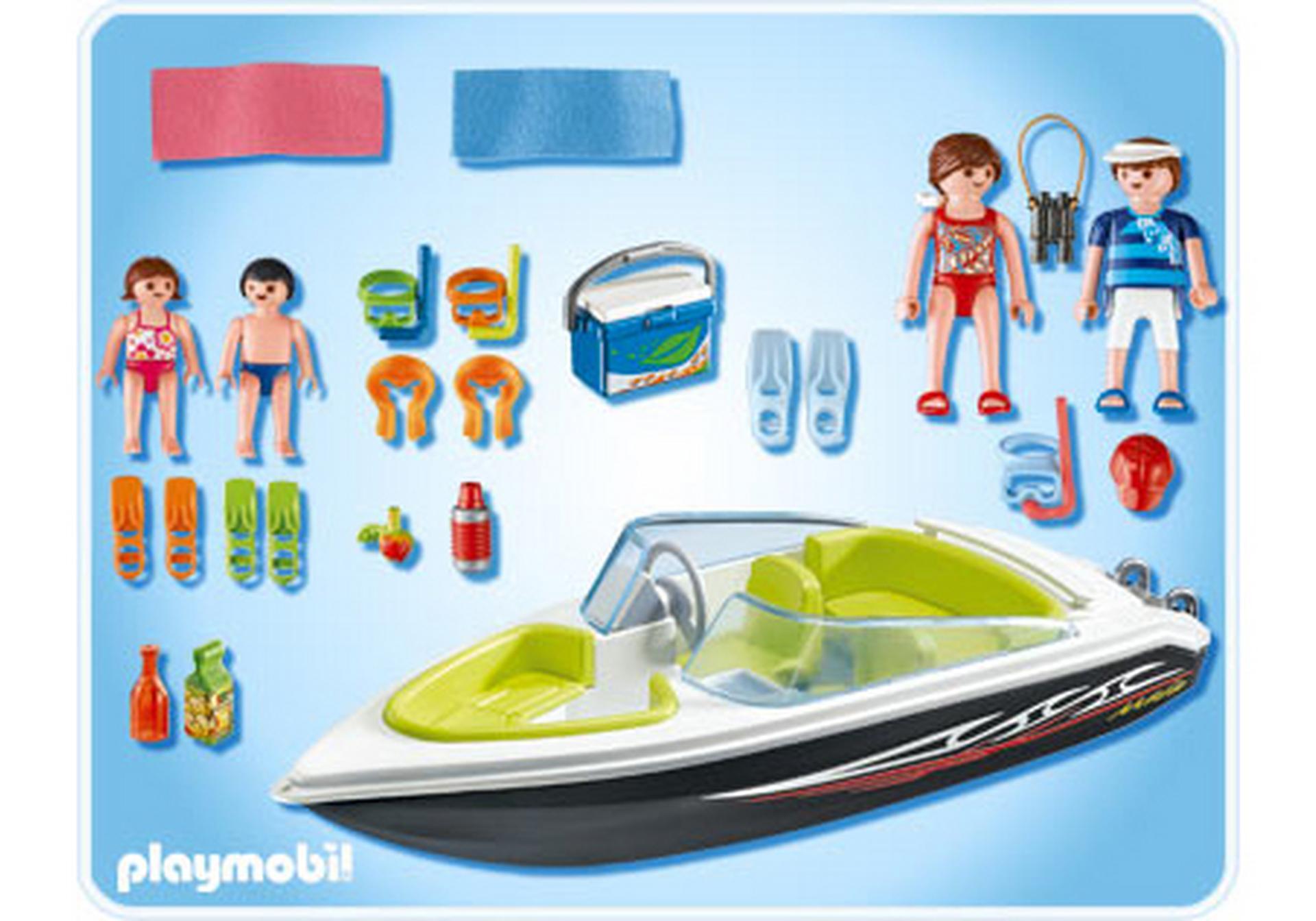 Schnittiges Sportboot 4862 A Playmobil Deutschland