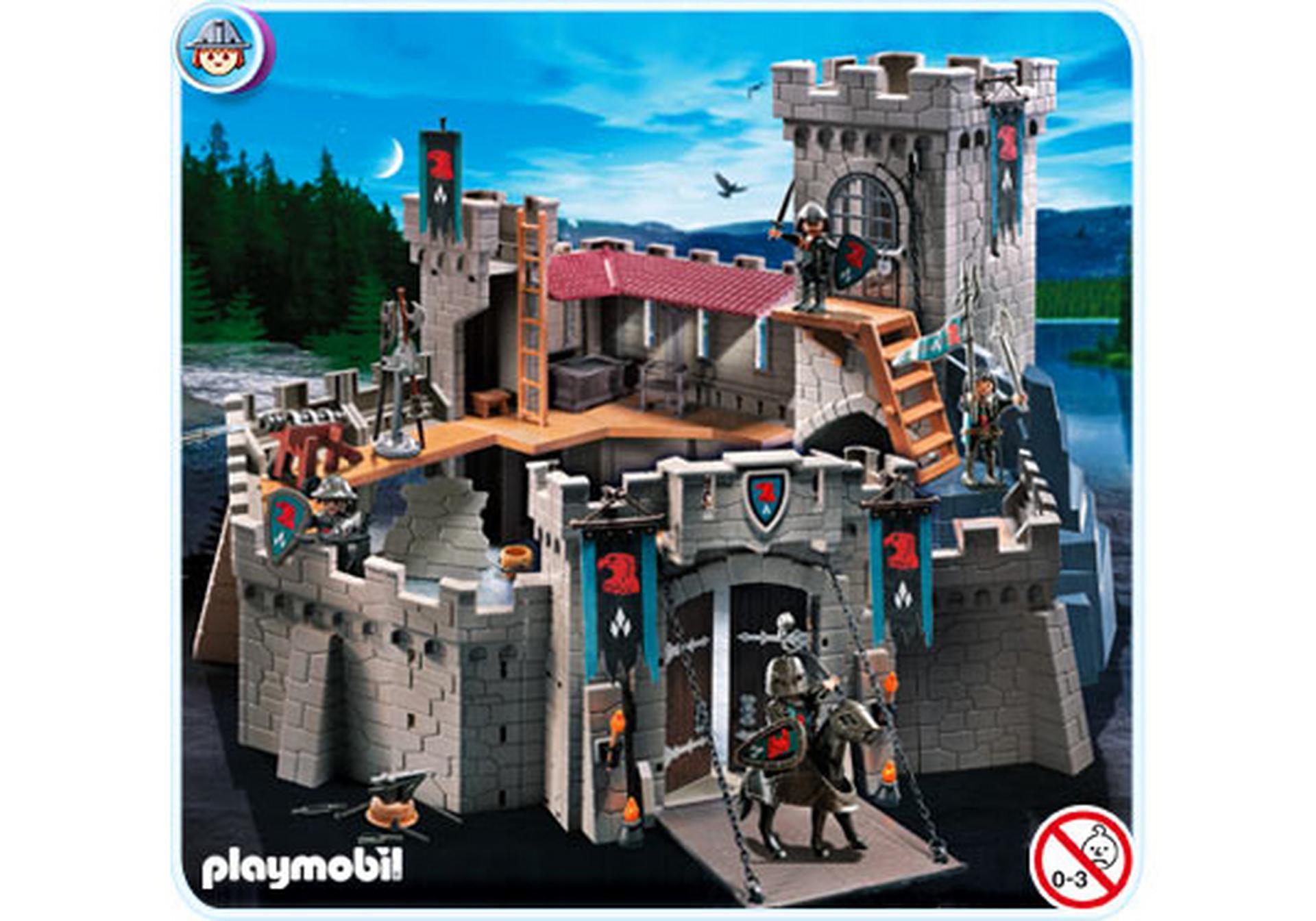 Raubritterburg 4866 a playmobil deutschland - Chateau chevalier playmobil ...
