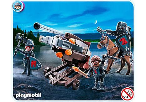 4868-A Baliste à 6 projectiles et chevaliers du Faucon detail image 1