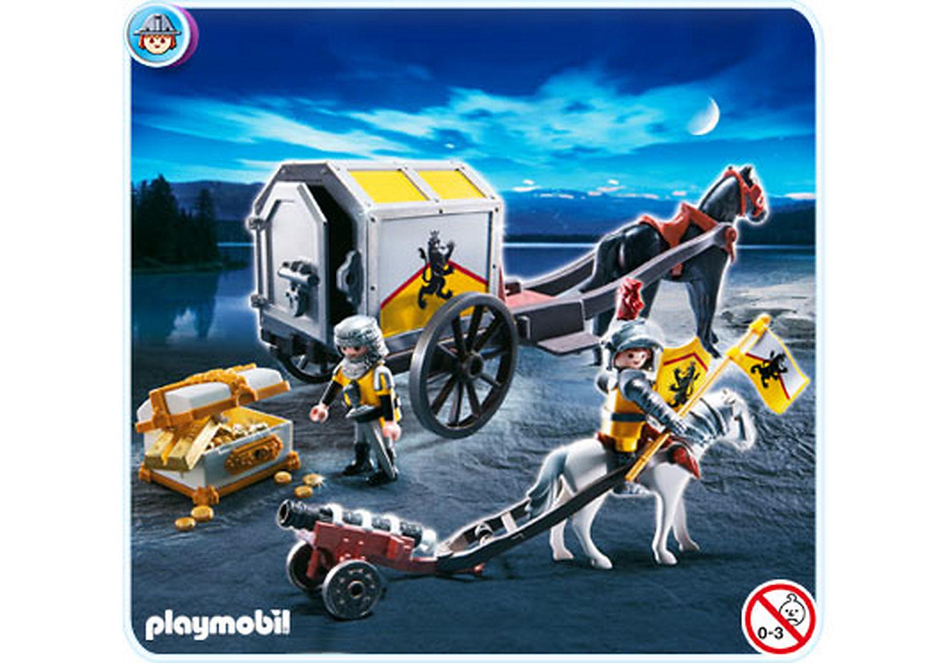 4874-A Convoi et trésor des chevaliers du Lion zoom image1