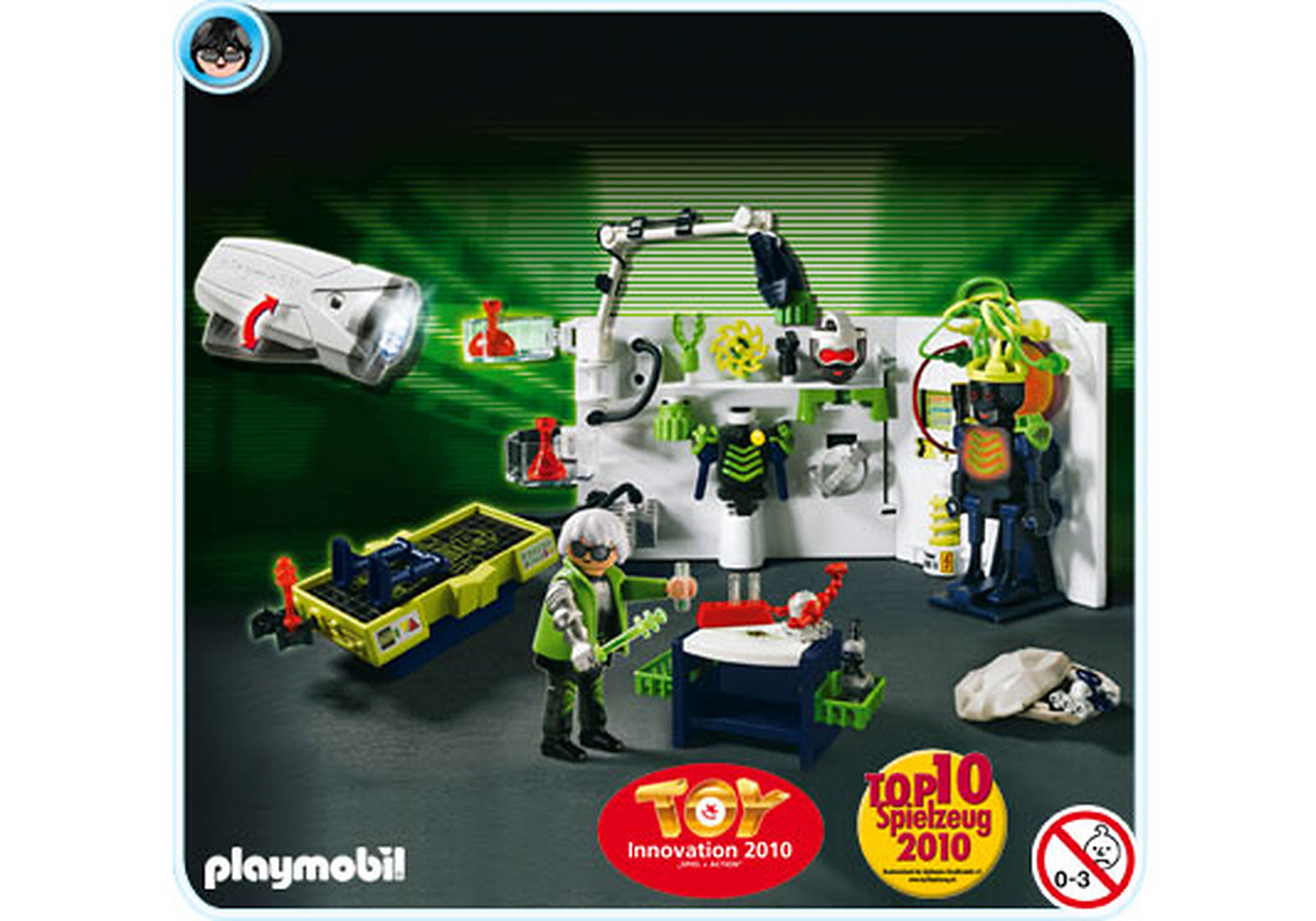http://media.playmobil.com/i/playmobil/4880-A_product_detail/Robo-Gangster Labor mit Multifunktionstaschenlampe