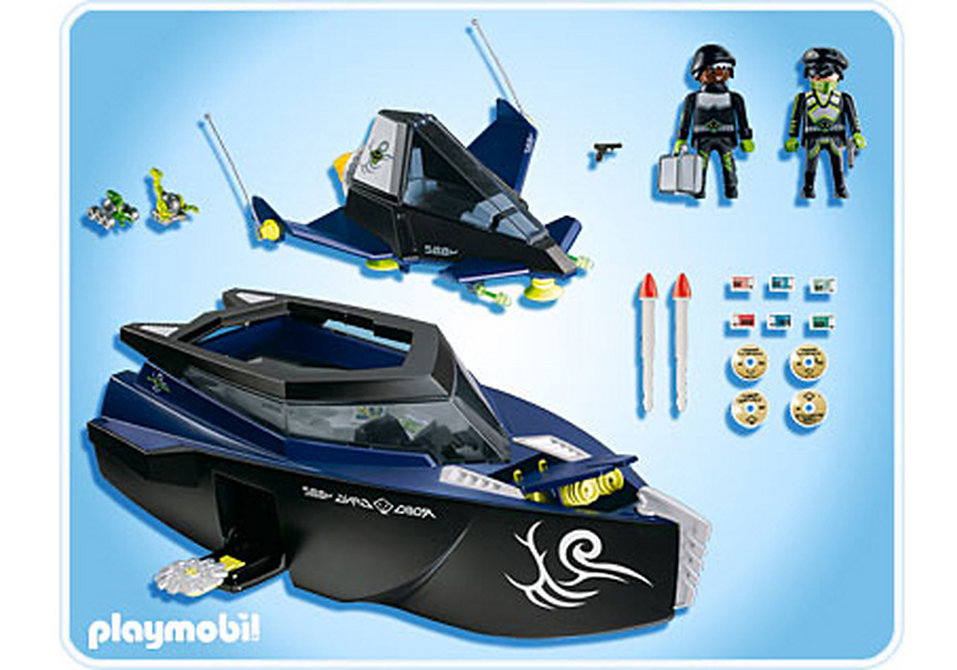 4882-A Robo-Gangster Turbokampfschiff zoom image2