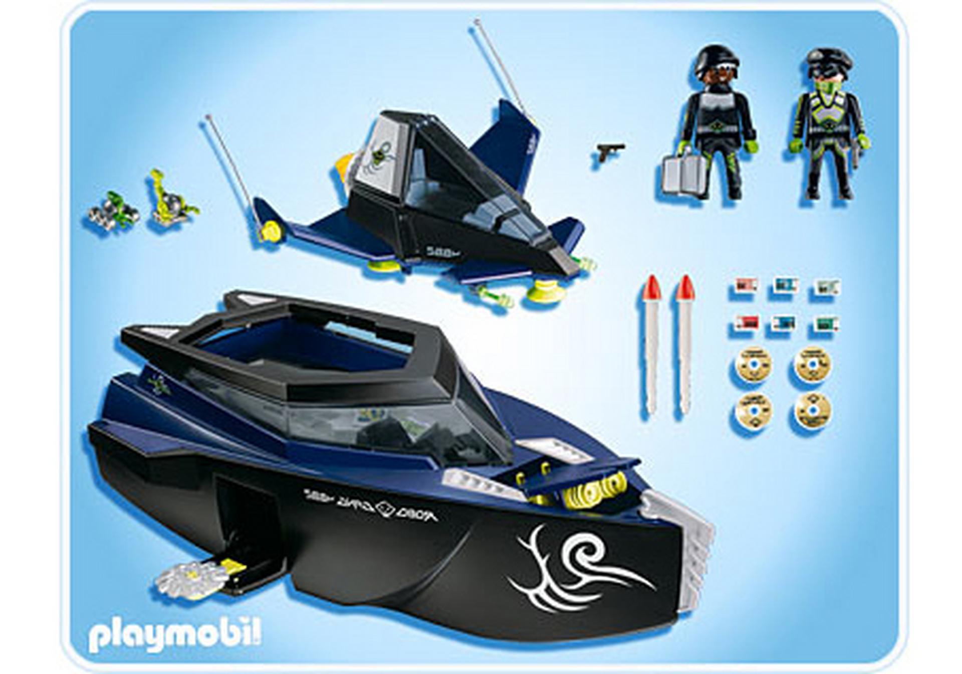 Robo-Gangster Turbokampfschiff - 4882-A - PLAYMOBIL® Deutschland