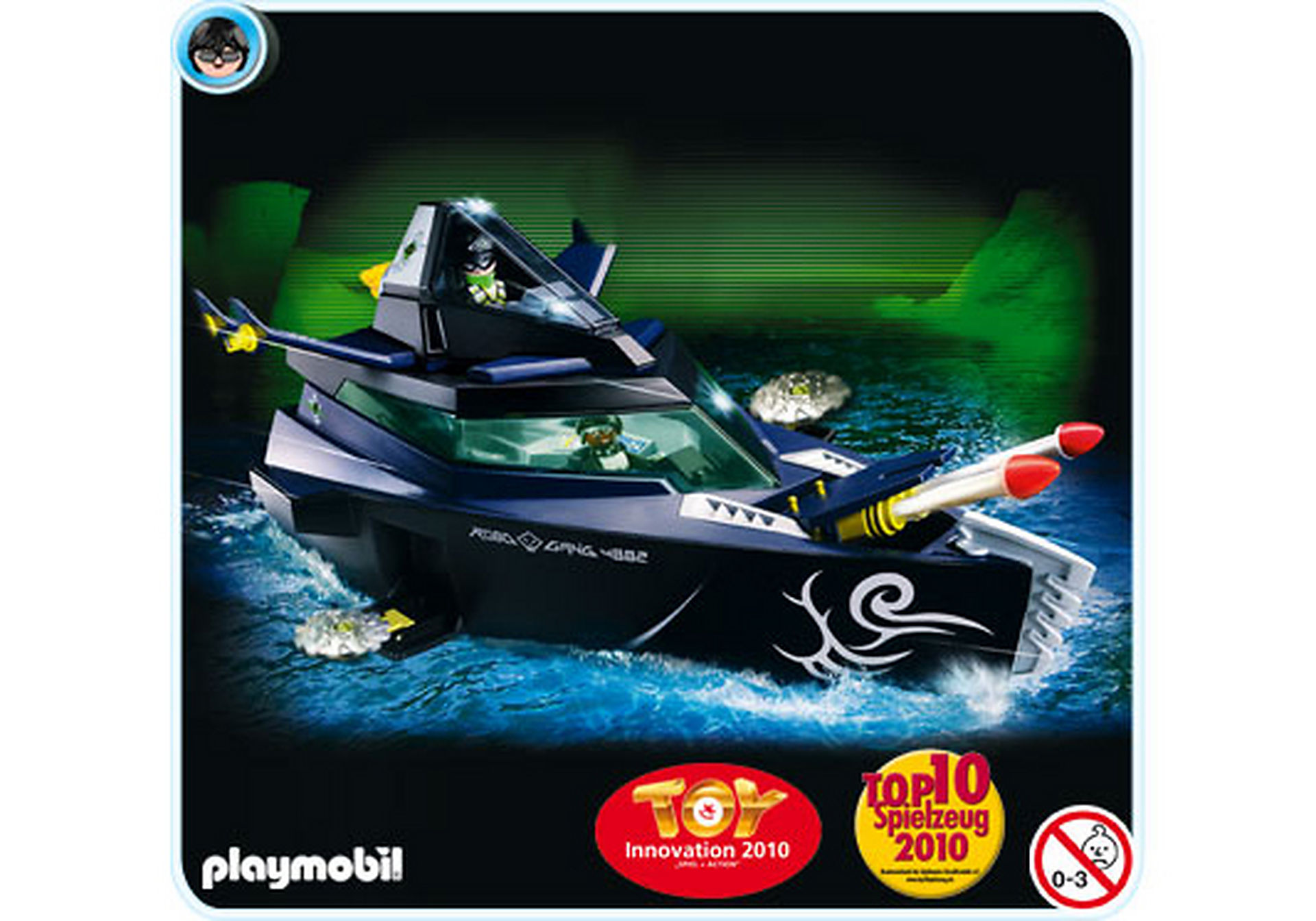 4882-A Robo-Gangster Turbokampfschiff zoom image1