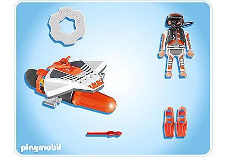 4883-A Plongeur torpille detail image 2