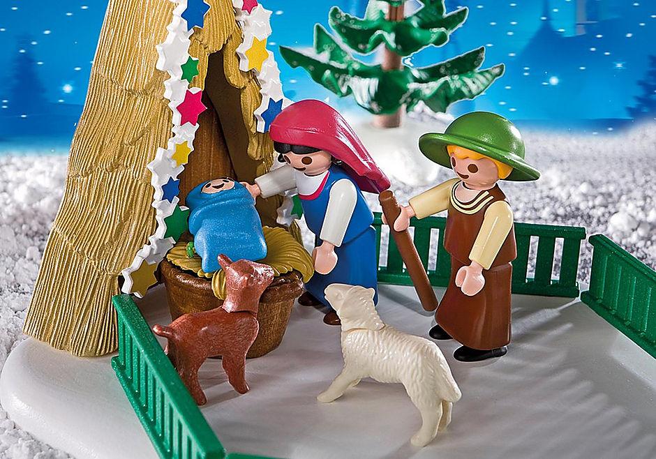 4885 Scène de la Nativité  detail image 4
