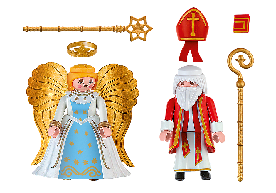 st nikolaus und christkind 4887 playmobil deutschland. Black Bedroom Furniture Sets. Home Design Ideas