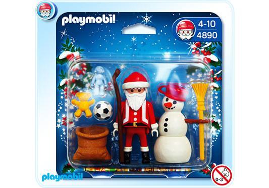 http://media.playmobil.com/i/playmobil/4890-A_product_detail/Père Noël et bonhomme de neige