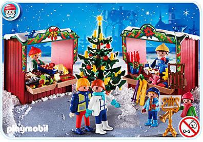 4891-A Marché de Noël detail image 1