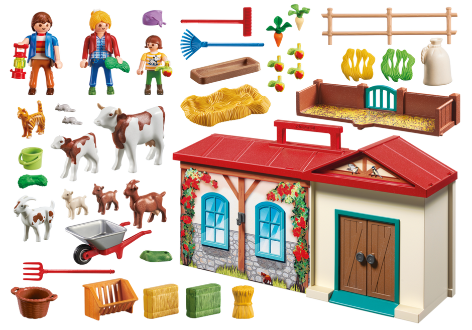 Stables  Dollhouse Playmobil PU-16 Girl Figure Spirit Riding Free