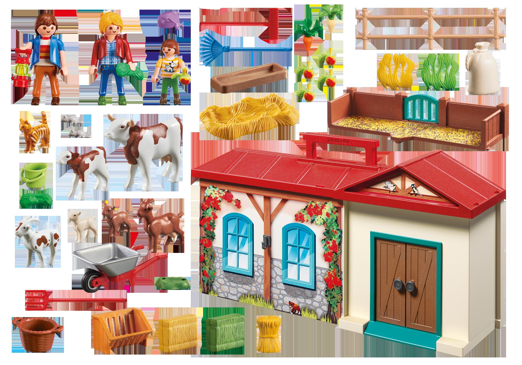 take along farm 4897 playmobil