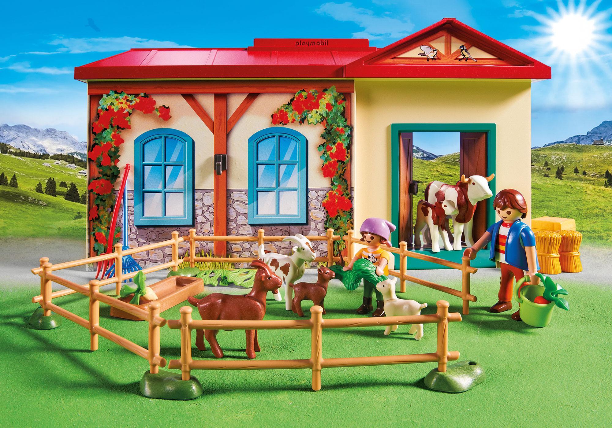 http://media.playmobil.com/i/playmobil/4897_product_extra2/Bondgård som du kan ta med dig