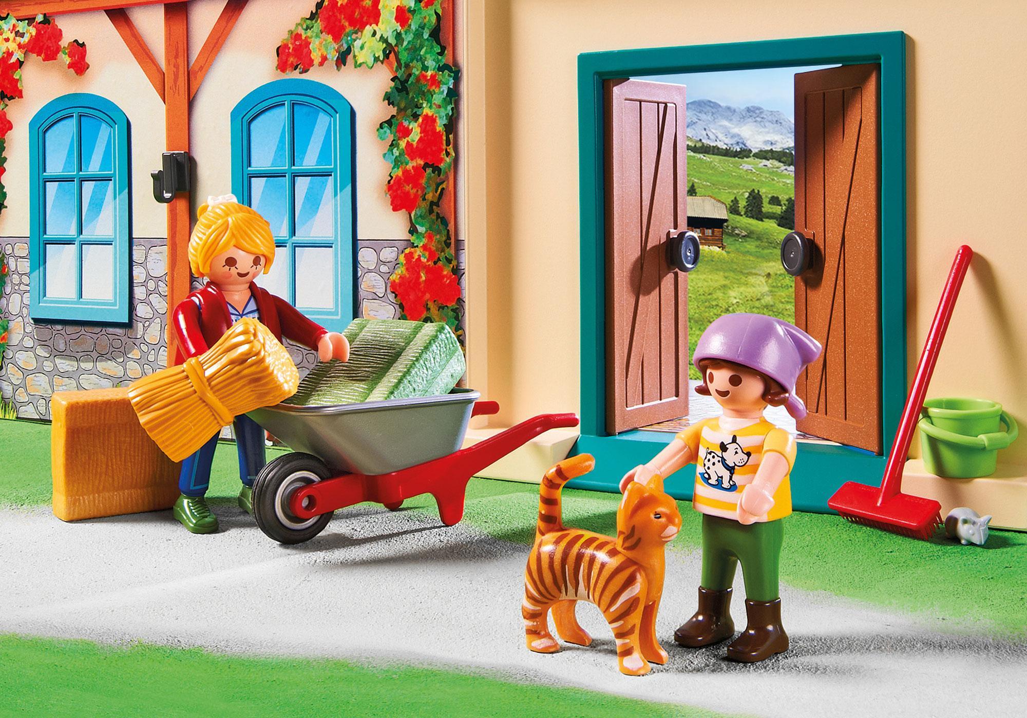 http://media.playmobil.com/i/playmobil/4897_product_extra3/Bondgård som du kan ta med dig