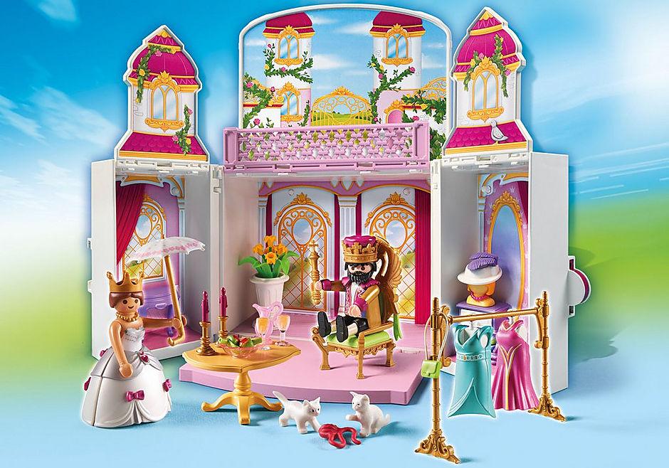 4898 Coffre Cour royale detail image 1