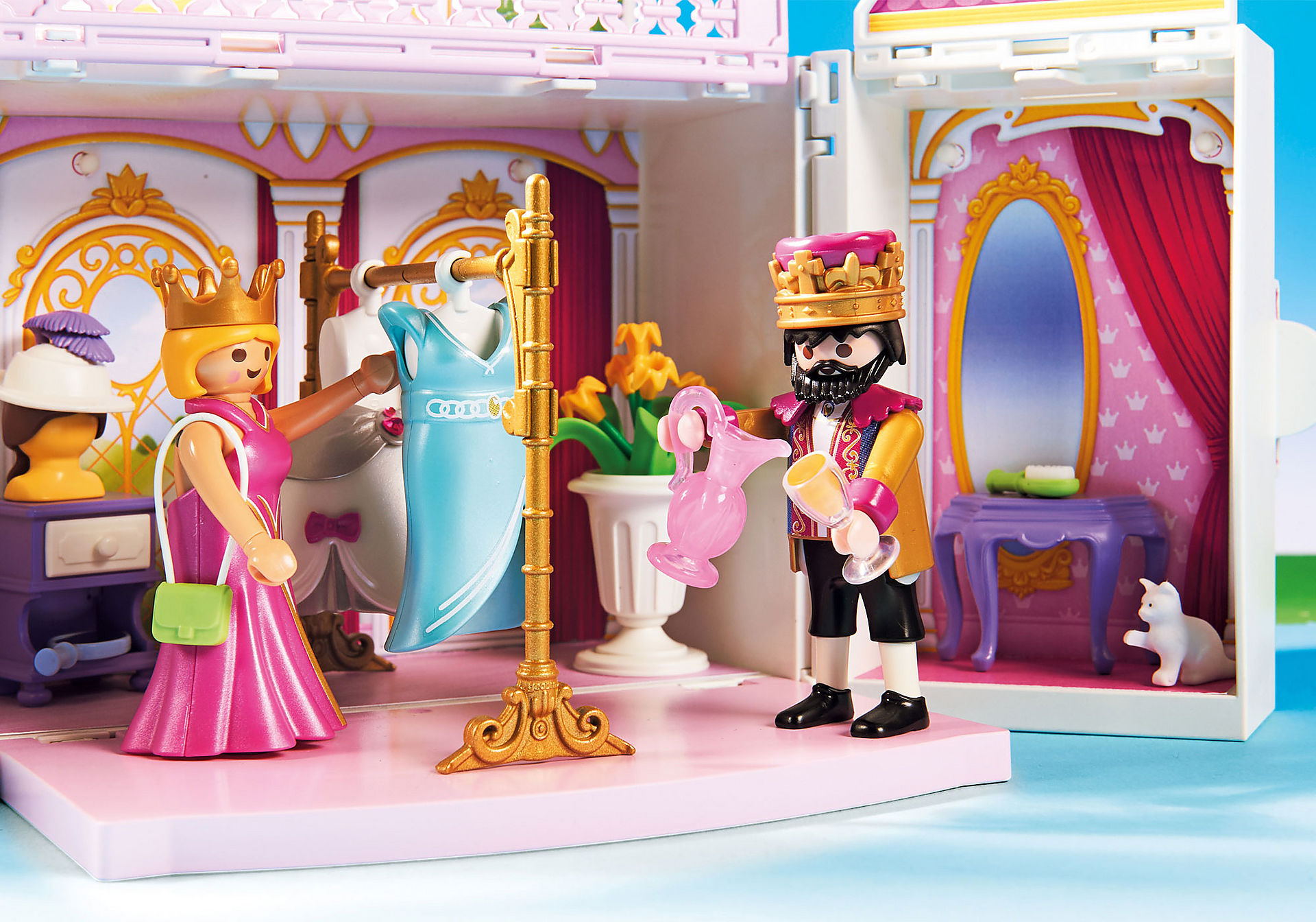 "http://media.playmobil.com/i/playmobil/4898_product_extra1/Spelbox ""Kungligt palats"""