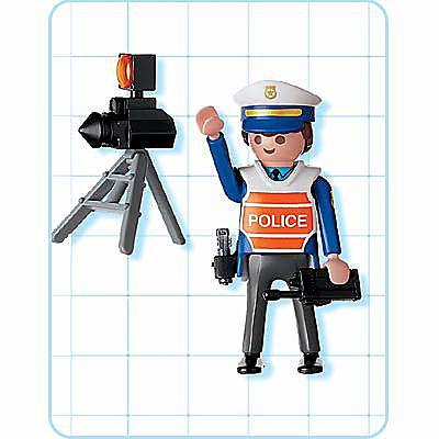 4900-A Policier/radar detail image 2