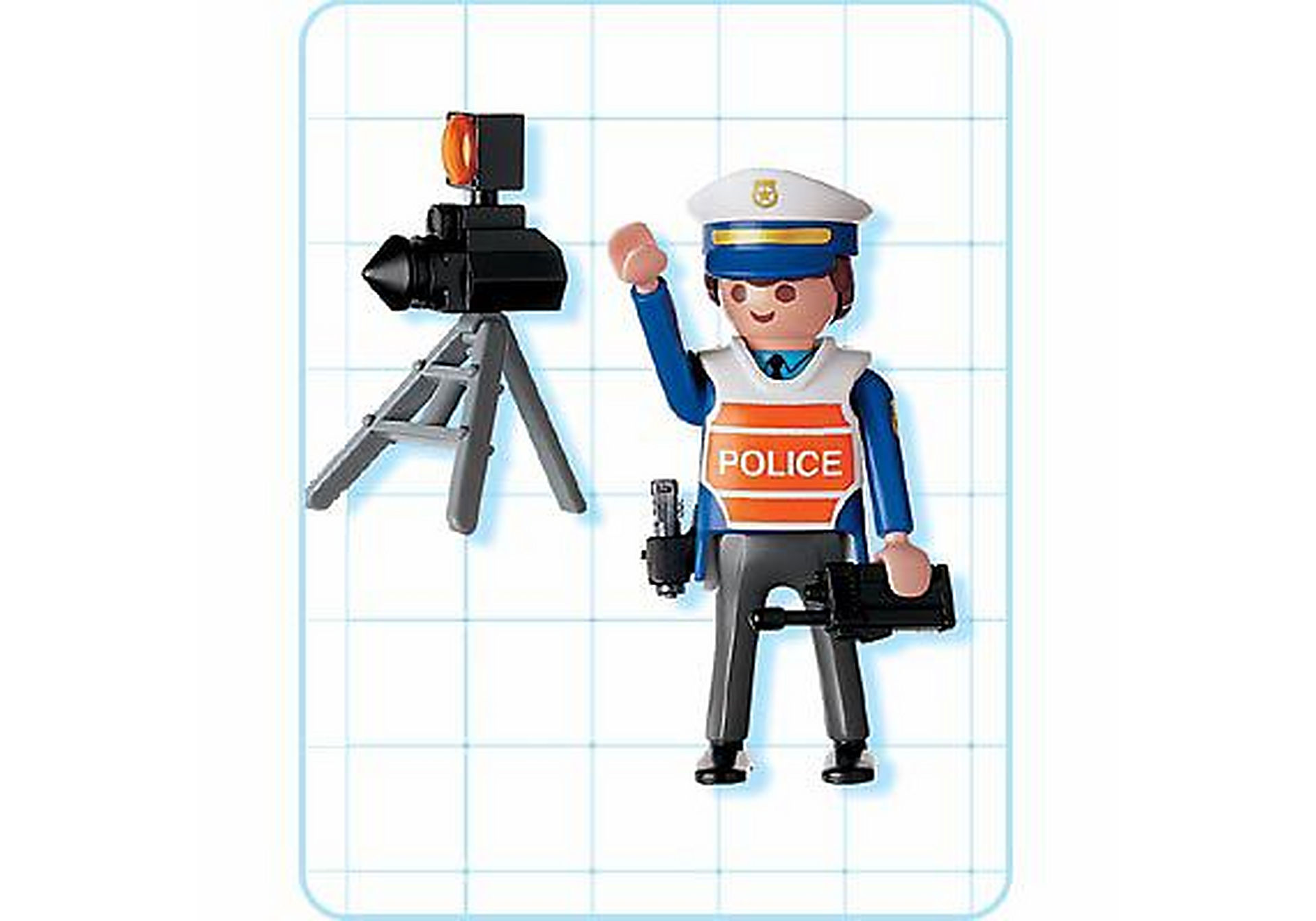 4900-A Policier/radar zoom image2