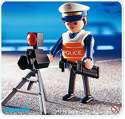 4900-A Policier/radar detail image 1