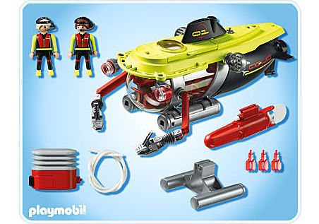 4909-A Tiefsee-Tauchboot mit Unterwassermotor detail image 2