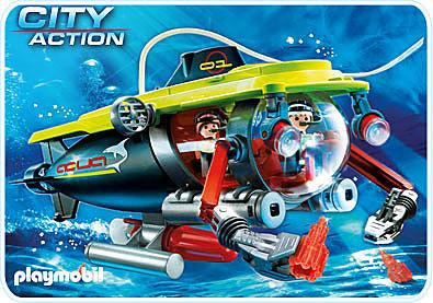 4909-A Tiefsee-Tauchboot mit Unterwassermotor detail image 1