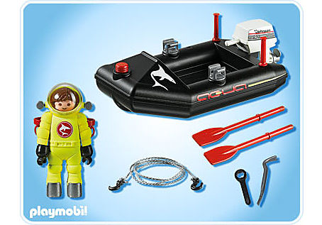 4910-A Kleinboot mit Tiefseetaucher detail image 2