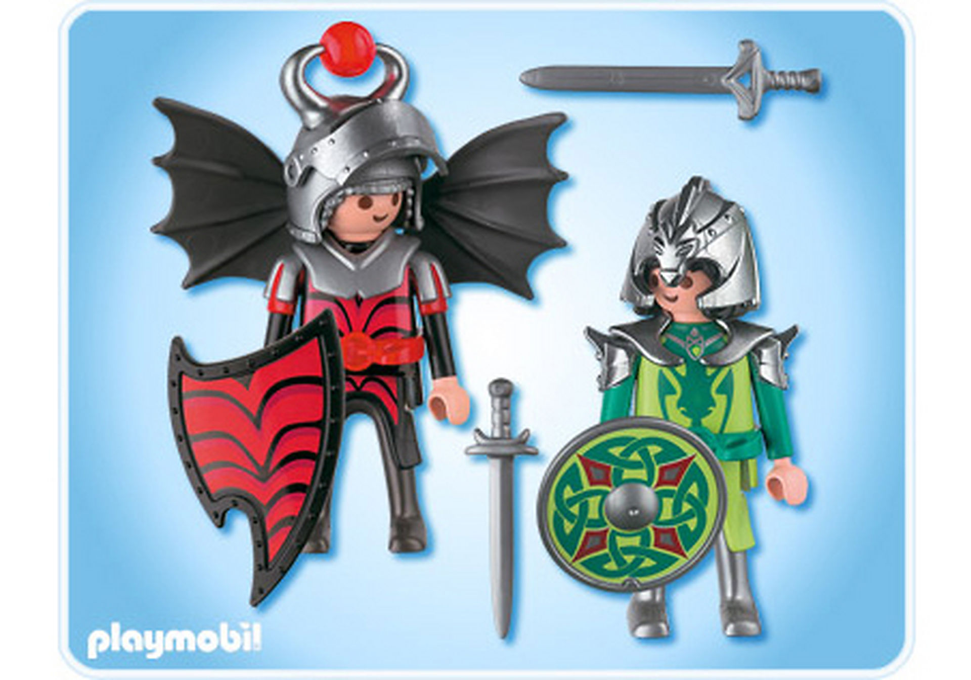 4912-A Playmobil Duo Chevaliers dragons zoom image2