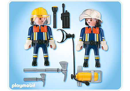 4914-A Playmobil Duo Pompiers detail image 2