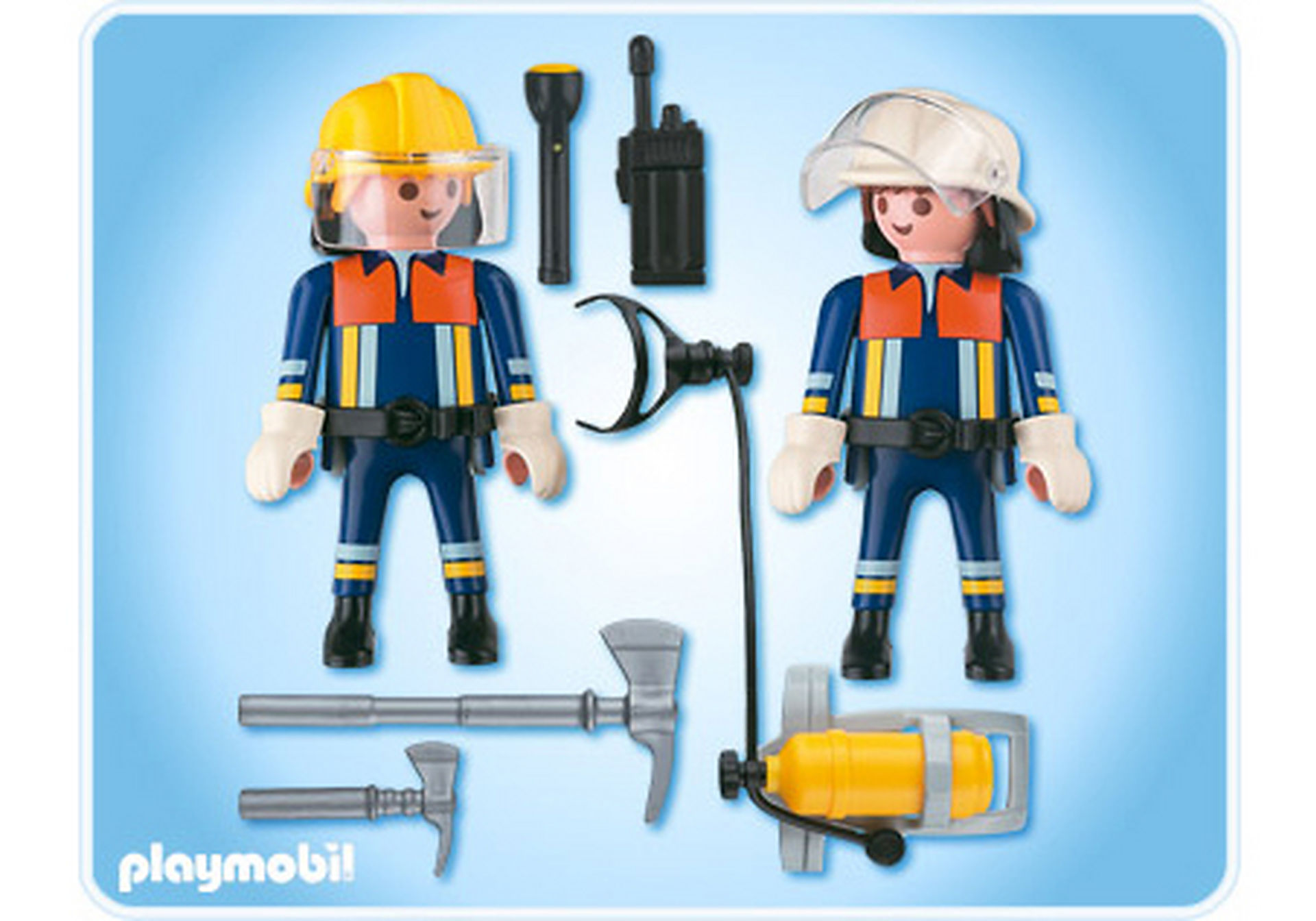 4914-A Playmobil Duo Pompiers zoom image2