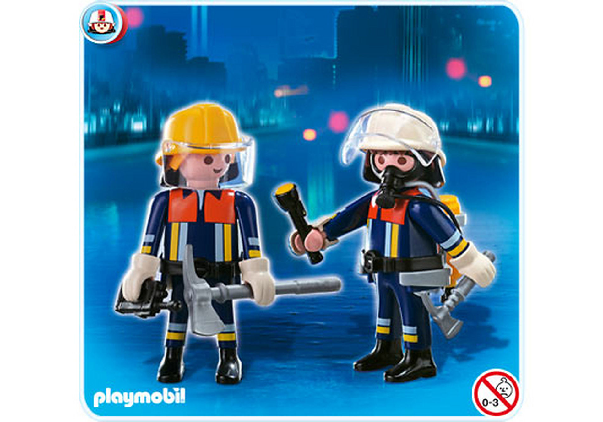 4914-A Playmobil Duo Pompiers zoom image1