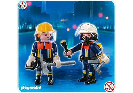 Playmobil duo pompiers 4914 a playmobil france - Playmobil de pompier ...