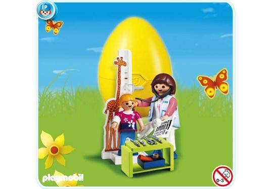 http://media.playmobil.com/i/playmobil/4921-A_product_detail/Oeuf 2010 Pédiatre et enfant