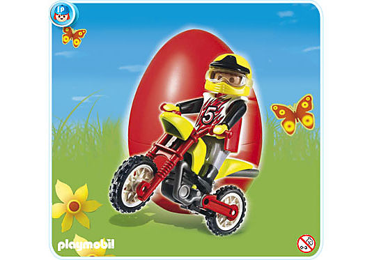 4923-A Moto Cross Biker detail image 1