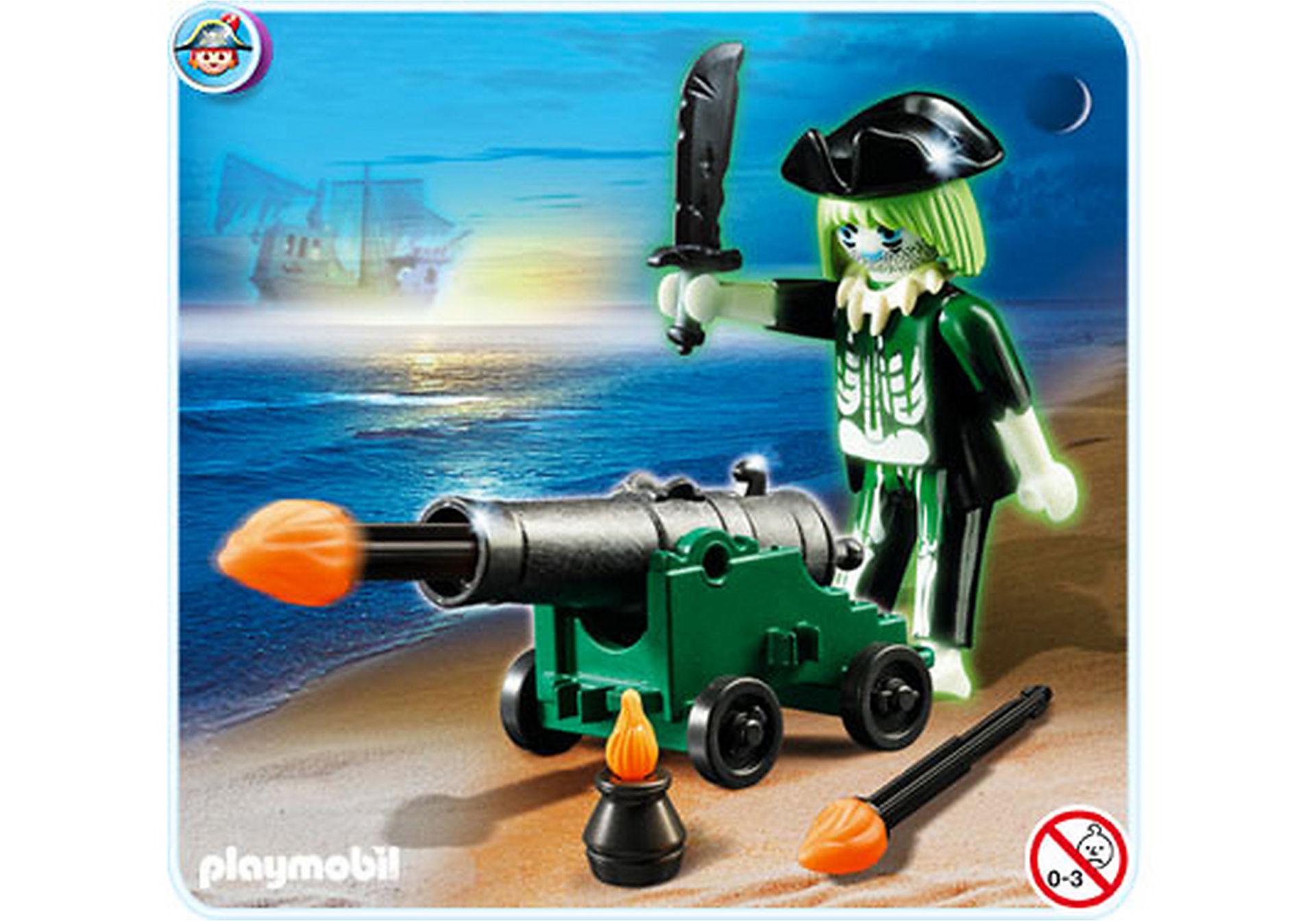 4928-A Pirate fantôme avec canon zoom image2