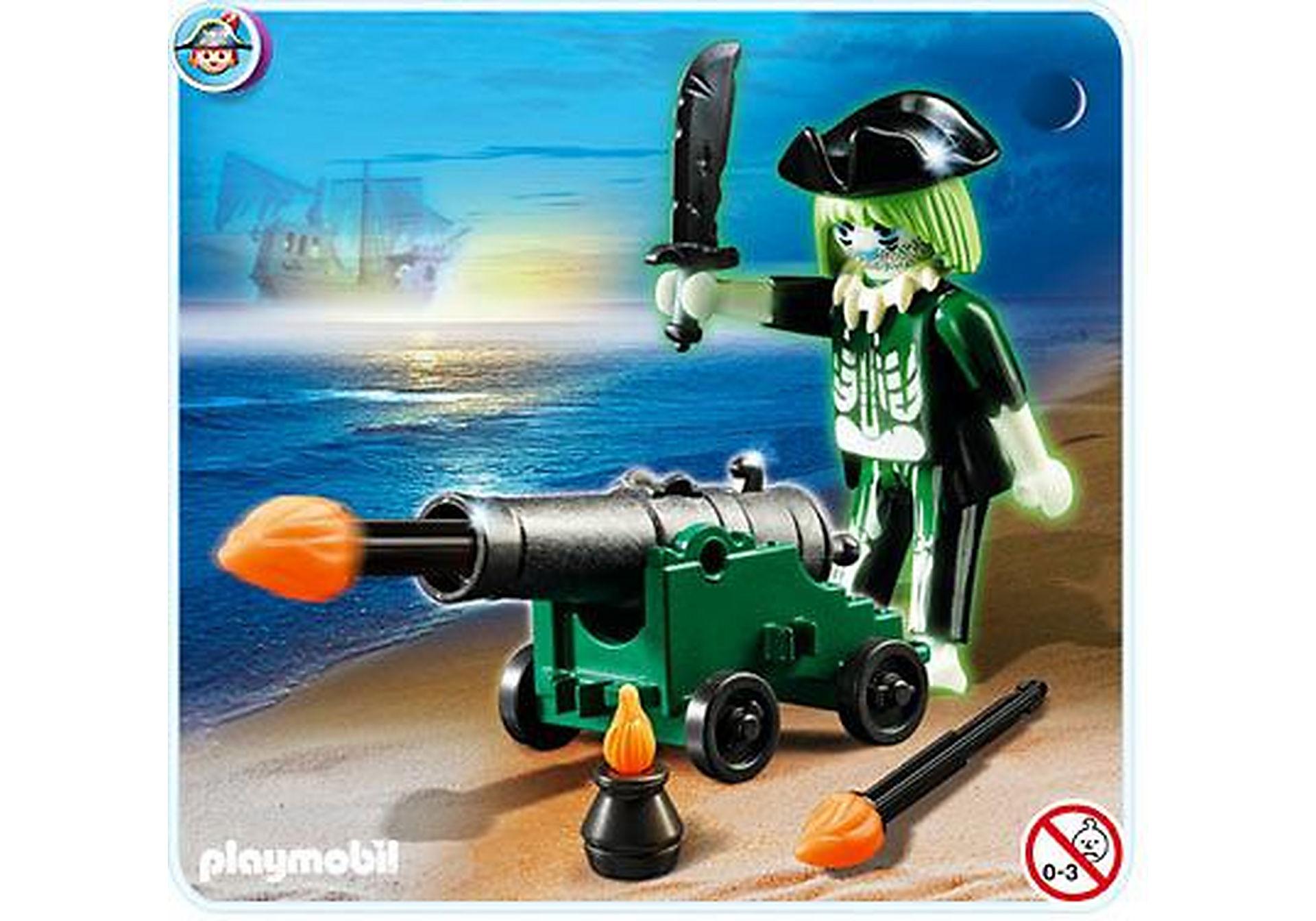 4928-A Pirate fantôme avec canon zoom image1