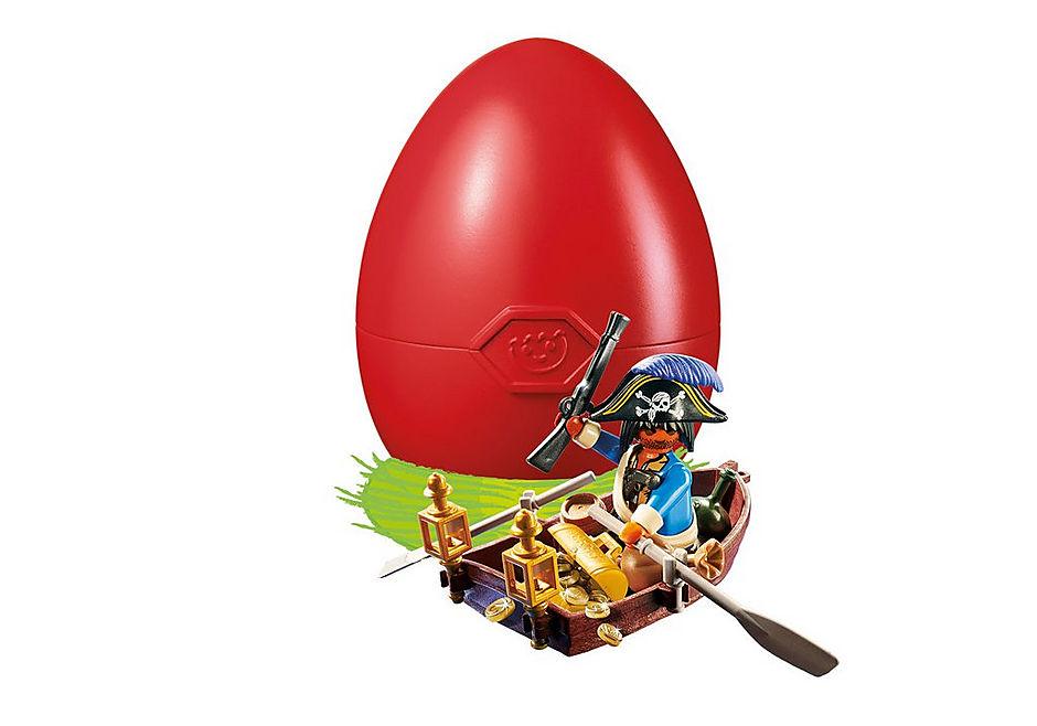 4942 Pirate avec barque et trésor  detail image 1