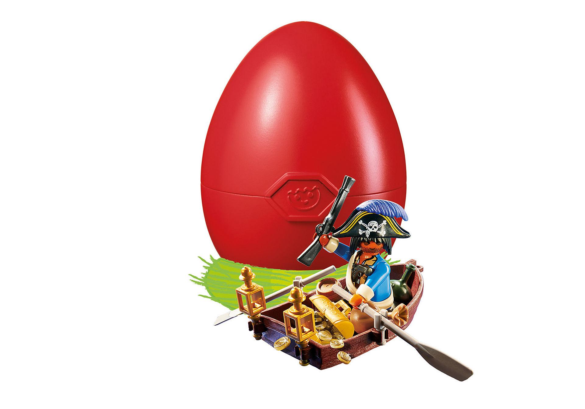 4942 Pirate avec barque et trésor  zoom image1
