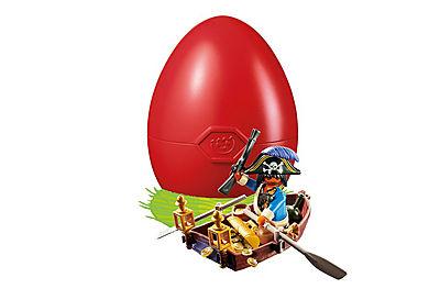 4942 Pirate avec barque et trésor