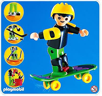 4998-A MultiKid-Enfant / skateboard detail image 1