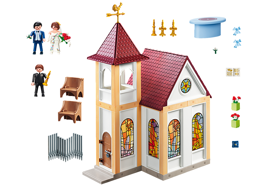 http://media.playmobil.com/i/playmobil/5053_product_box_back/Eglise avec couple de mariés