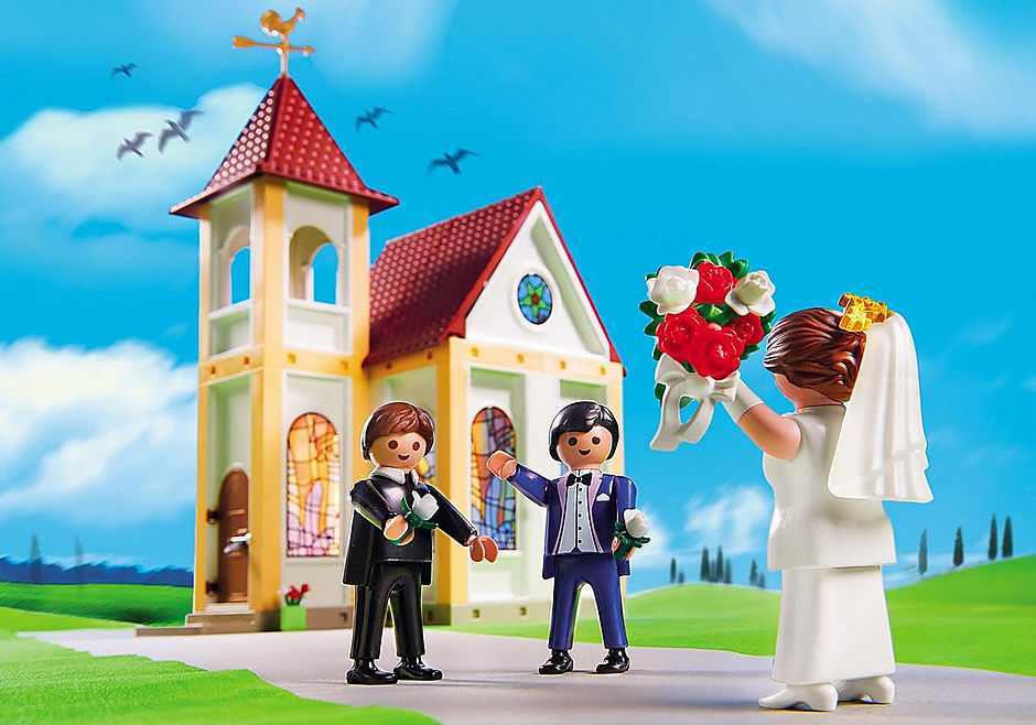 http://media.playmobil.com/i/playmobil/5053_product_extra1/Eglise avec couple de mariés
