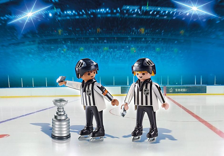 5070 NHL® Referees with Stanley Cup® detail image 1