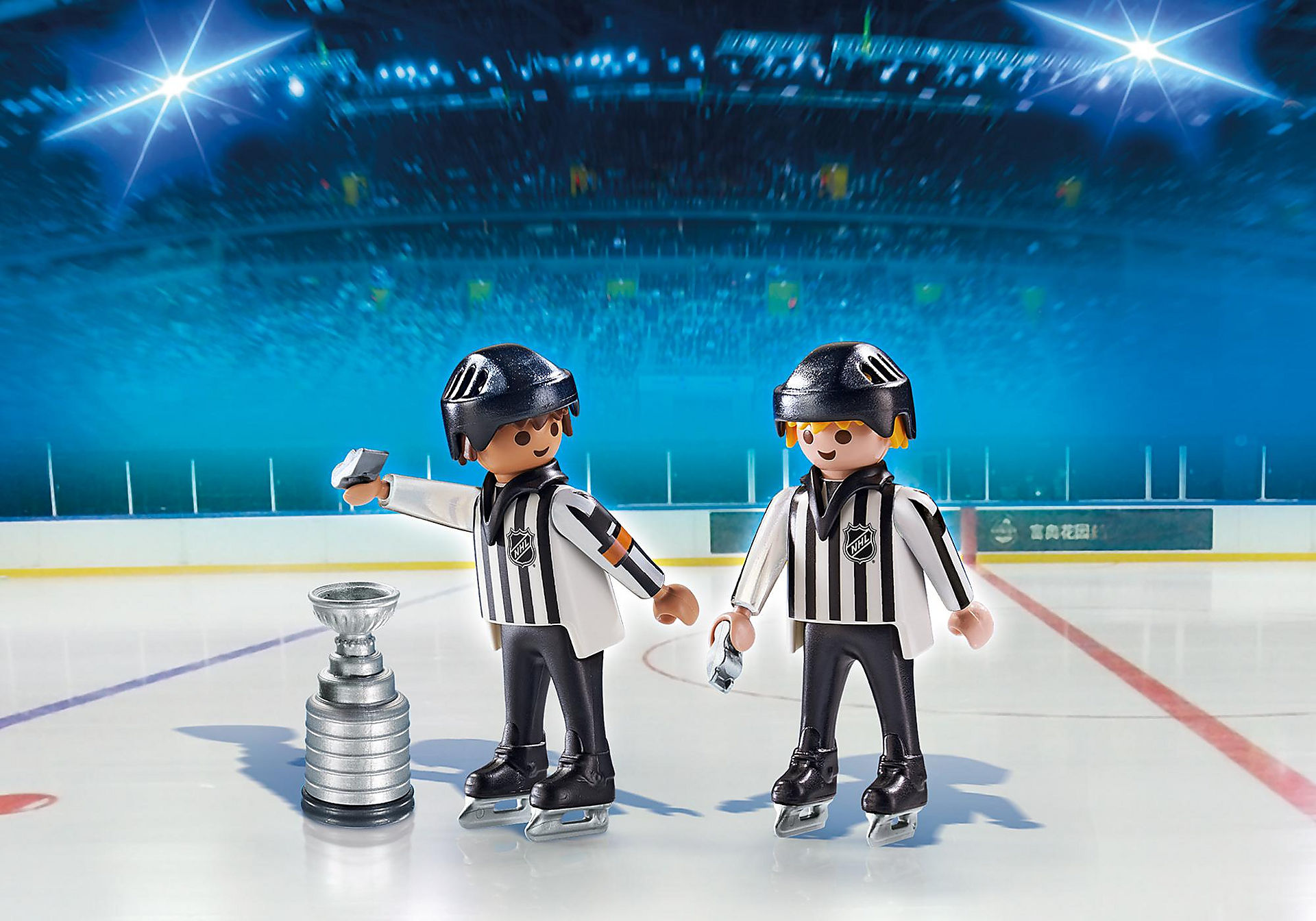 5070 NHL® Referees with Stanley Cup® zoom image1