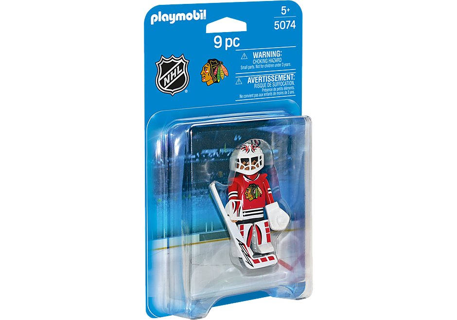 5074 NHL® Chicago Blackhawks® Goalie detail image 2