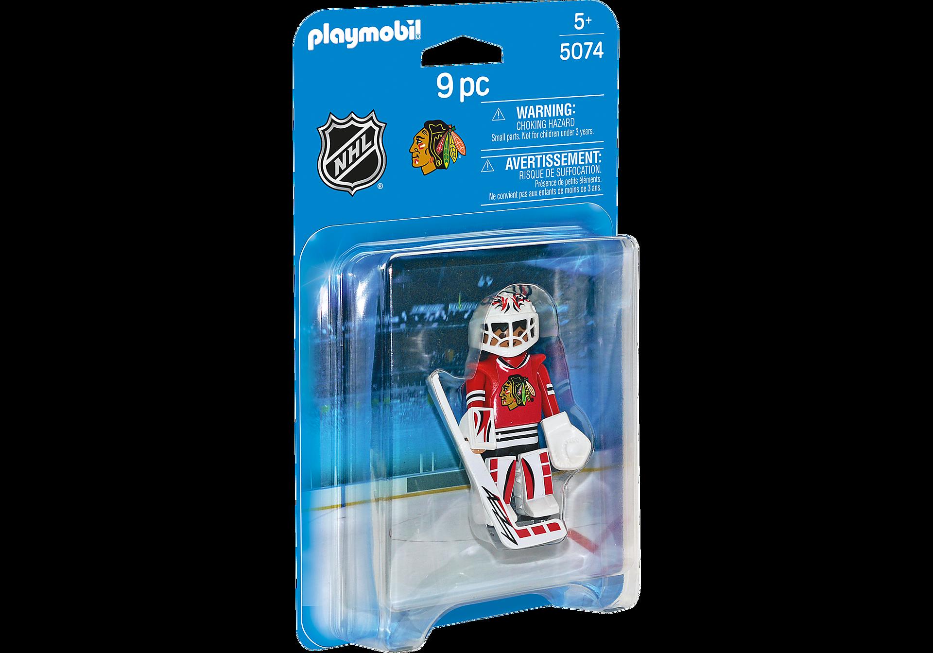 5074 NHL® Chicago Blackhawks® Goalie zoom image2