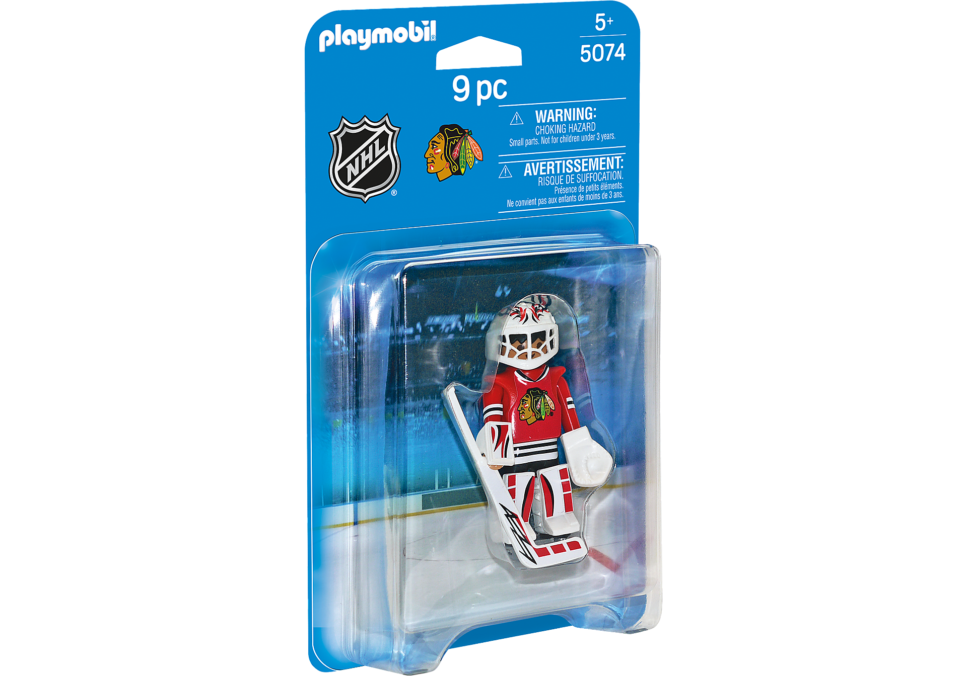 5074 NHL™ Chicago Blackhawks™ Goalie zoom image2